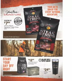 Sports deals in the Cabela's catalog ( More than a month)