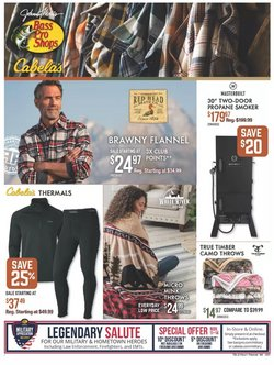 Sports deals in the Cabela's catalog ( 18 days left)