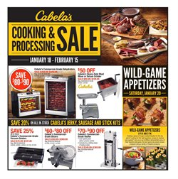 Cabela's deals in the Denver CO weekly ad