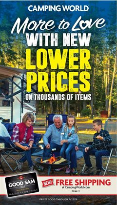 Sports deals in the Camping World weekly ad in Rapid City SD