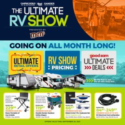 Camping World deals in the Camping World catalog ( Expires tomorrow)