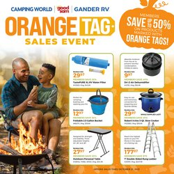 Sports deals in the Camping World catalog ( 13 days left)