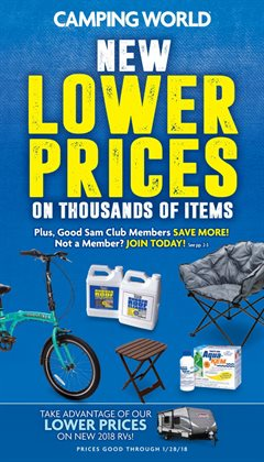 Sports deals in the Camping World weekly ad in Livonia MI