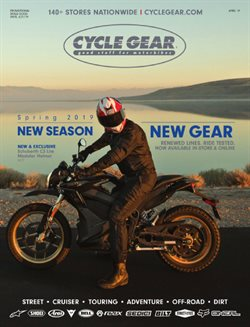 Cycle Gear catalogue ( Expired )