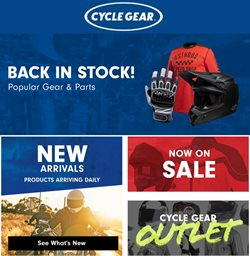 Cycle Gear catalogue ( 2 days left )