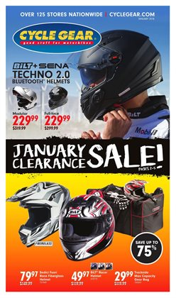Cycle Gear deals in the Houston TX weekly ad