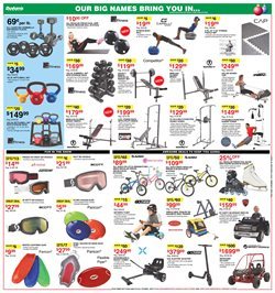 Bikes deals in the Dunham's Sports weekly ad in Newark OH