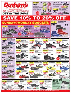 Baseball deals in the Dunham's Sports weekly ad in Newark OH