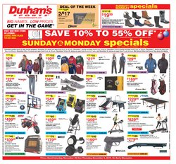 Sports deals in the Dunham's Sports weekly ad in Ann Arbor MI