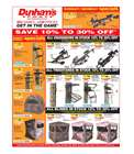 Sports offers in the Dunham's Sports catalogue in Newark OH ( Expires tomorrow )