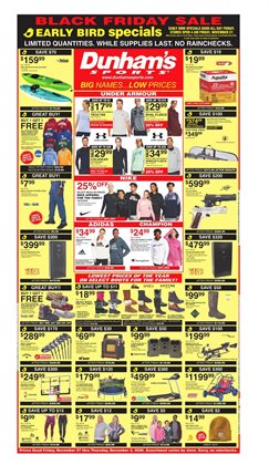 Sports offers in the Dunham's Sports catalogue in Lima OH ( 2 days ago )