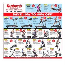 Dunham's Sports catalogue ( Expired )