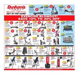 Dunham's Sports catalogue ( Expires today )