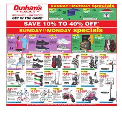 Dunham's Sports catalogue ( 3 days left )