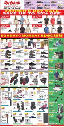 Sports deals in the Dunham's Sports catalog ( 1 day ago)