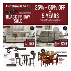 The Furniture Mart deals in the Cedar Rapids IA weekly ad