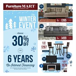 The Furniture Mart deals in the Rochester MN weekly ad