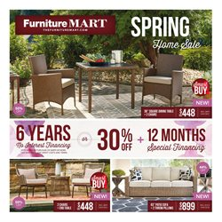 The Furniture Mart deals in the Elk River MN weekly ad