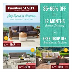 The Furniture Mart catalogue ( Published today )