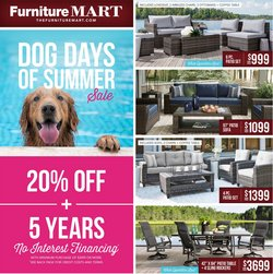 The Furniture Mart deals in the The Furniture Mart catalog ( 4 days left)
