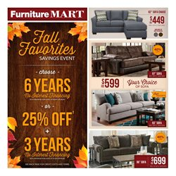 The Furniture Mart Deals In The West Fargo ND Weekly Ad