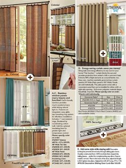 Curtains deals in the Fresh Finds weekly ad in New York