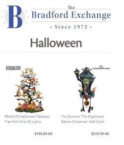 Jewelry & Watches deals in the Bradford Exchange catalog ( 8 days left)