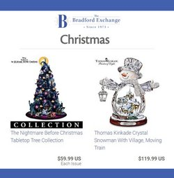Jewelry & Watches deals in the Bradford Exchange catalog ( 21 days left)