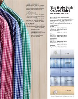 Shirt deals in the Lands' End weekly ad in New York