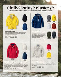 Coat deals in the Lands' End weekly ad in New York