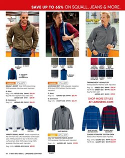 Women's shoes deals in the Lands' End weekly ad in New York