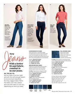 Jeans deals in the Lands' End weekly ad in New York