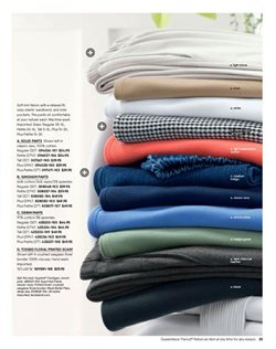 Scarf deals in the Lands' End weekly ad in New York