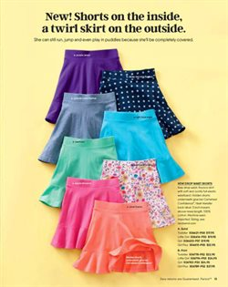 Skirt deals in the Lands' End weekly ad in New York