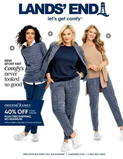 Clothing & Apparel offers in the Lands' End catalogue in Saint Peters MO ( 13 days left )