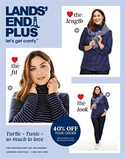 Clothing & Apparel offers in the Lands' End catalogue in Hammond IN ( 12 days left )