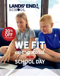 Clothing & Apparel offers in the Lands' End catalogue in Mesquite TX ( 22 days left )