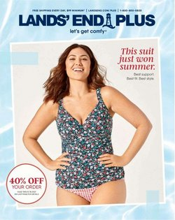 Clothing & Apparel deals in the Lands' End catalog ( 2 days left)