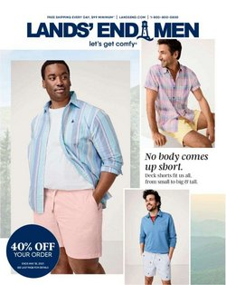 Clothing & Apparel deals in the Lands' End catalog ( 5 days left)