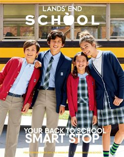 Back to school deals in the Lands' End weekly ad in New York