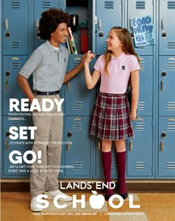 Lands' End deals in the New York weekly ad