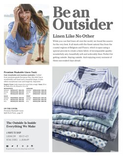 Shirt deals in the L.L.Bean weekly ad in New York