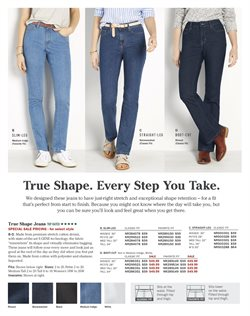 Jeans deals in the L.L.Bean weekly ad in New York