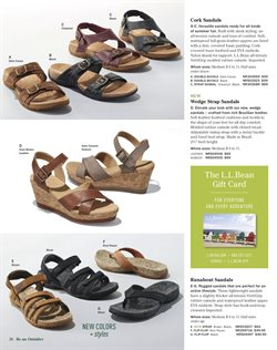 Sandals deals in the L.L.Bean weekly ad in New York