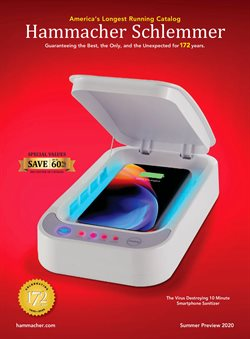 Hammacher Schlemmer catalogue ( 28 days left )