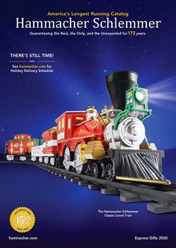 Hammacher Schlemmer catalogue ( 19 days left )