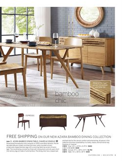 Chairs deals in the Viva Terra weekly ad in New York