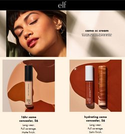 Beauty & Personal Care deals in the ELF cosmetics catalog ( Published today)