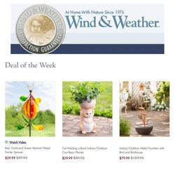 Wind & Weather catalogue ( Expires tomorrow )