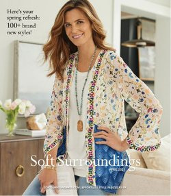 Clothing & Apparel deals in the Soft Surroundings catalog ( Expires today)